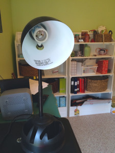 desk lamp with socket