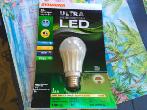 light bulb package LED