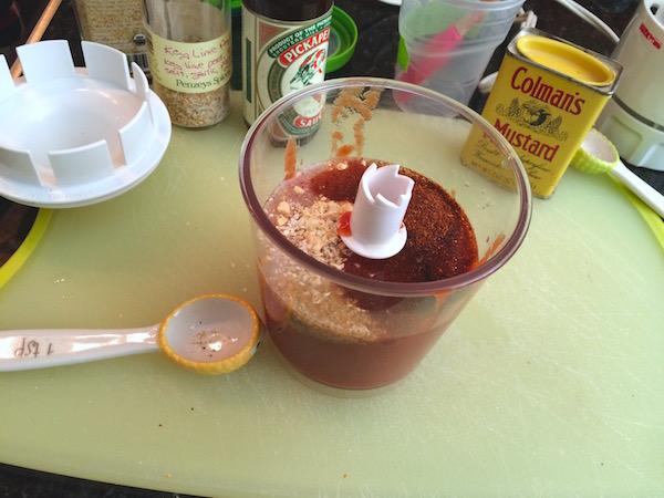 Easy no-cook ketchup
