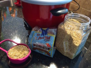 steel cut oats ingredients