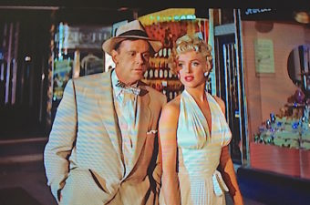 "Lisa's Home Bijou: Billy Wilder's delightful story about summer madness is ""The Seven Year Itch (1955), starring Marilyn Monroe and Tom Ewell and a white halter dress."