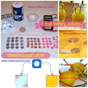 fruit battery activities