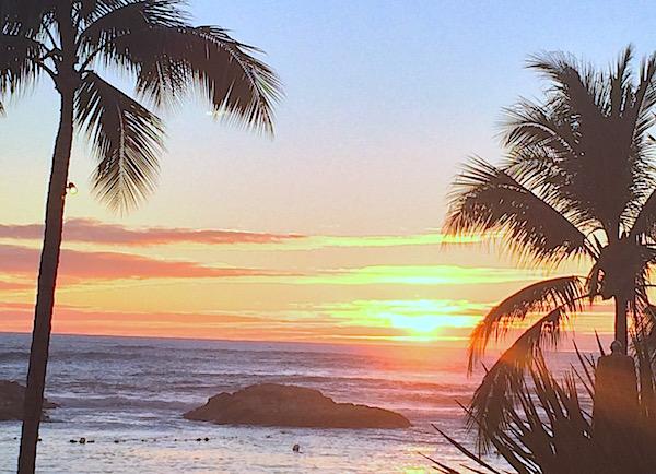 Sunrise and sunset Hawaii