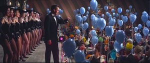 """Frank Sinatra leads the Rat Pack through an intricate Las Vegas caper. What a way to get post-WWII excitement! From Lisa's Home Bijou: """"Ocean's 11""""."""