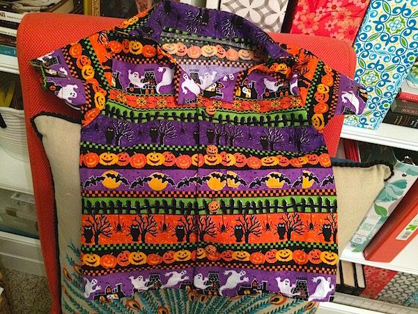 Halloween shirts, Aloha style – sewing tips