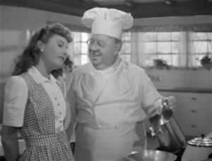 Barbara Stanwyck hosts a Navy veteran and finds love, all while faking it as America's Best Cook. From Lisa's Home Bijou: Christmas in Connecticut (1945)
