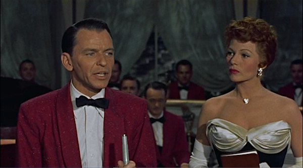 Frank Sinatra tries to work his way from San Francisco's Barbary Coast to Nob Hill while romancing Kim Novak and Rita Hayworth. Lisa's Home Bijou: Pal Joey (1957)