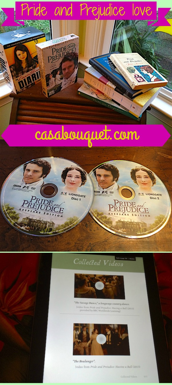 Jane Austen's beloved Pride and Prejudice has many versions: Keepsake Edition video, the digital interactive annotated novel, and Lizzie Bennet Diaries.