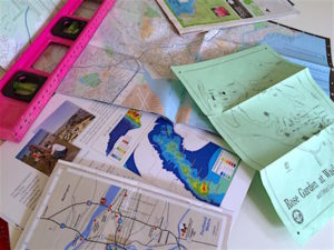 Map making introduces scale and scaling, latitude and longitude, and time and is a natural topic in teaching science with a pirate theme.