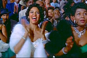 Divine Divas Dorothy Dandridge, Pearl Bailey, and Diahann Carroll go from making parachutes in the South to the high life in Chicago. Harry Belafonte's heart gets broken. Lisa's Home Bijou: Carmen Jones (1954)