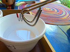 Nitinol memory wire is metal that remembers its original shape when heated. Kids will enjoy thermal energy experiments!