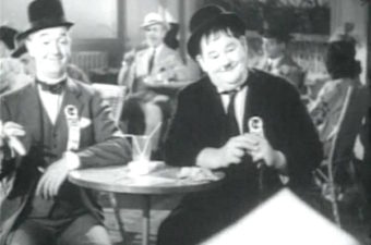 The Flying Deuces stars Laurel and Hardy in a comedy romp through Paris and Morocco. Don't miss the Shine on Harvest Moon soft shoe! Lisa's Home Bijou: The Flying Deuces (1939)