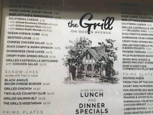 carmel-grill-menu