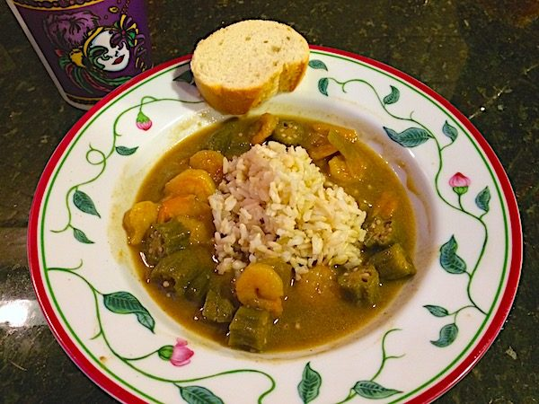 Year in review 2017 & shrimp gumbo for Mardi Gras