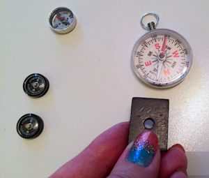 magnet-compass-testing