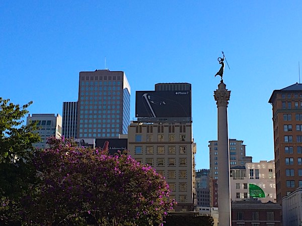 9 things to do in San Francisco, Part 3 – Union Square, Palace Hotel, & Sears Fine Food