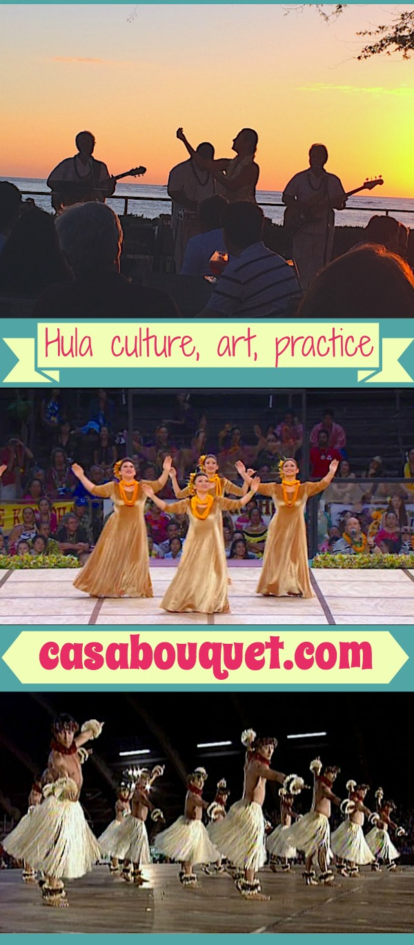 Hula is an ancient Hawaiian cultural practice. Today hula is often viewed as a dance art form by non-Hawaiians, but hula culture has many layers of cultural significance.