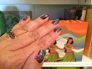 Jamberry review of nail wraps. Steps to apply alternative to nail polish. Different and artistic nails with vinyl wraps! Tips for doing your own manicure!