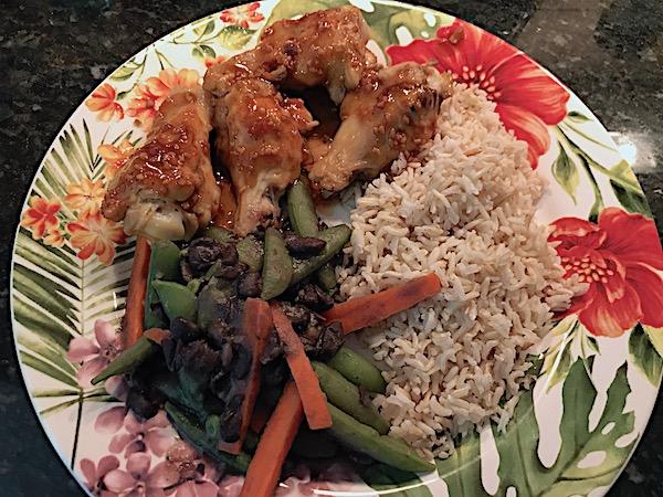 Hawaiian grilled chicken – huli-huli style