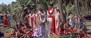Elvis Presley and Angela Lansbury star in a musical romantic comedy in Hawaii, with lots of tropical sites and activities. Lisa's Home Bijou: Blue Hawaii (1961)