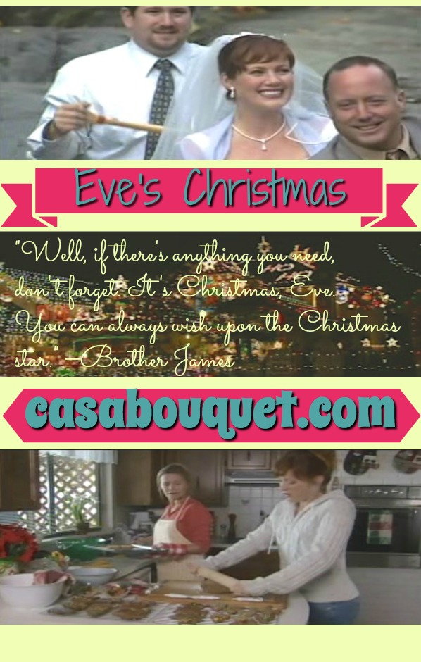 Eve has a fabulous, but unsatisfying life in New York. Her wish on a star sends her back in time for a do-over in this fantasy Christmas story. Lisa's Home Bijou: Eve's Christmas (2004)