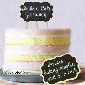Bake a Cake Giveaway 01.12.18-02.12.18