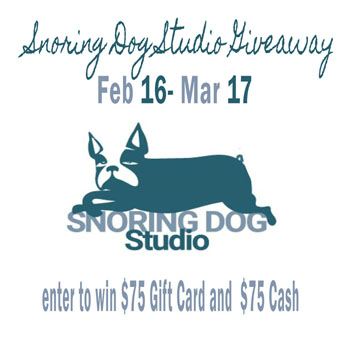 Snoring Dog Studio giveaway 02.16.18 – 03.17.18