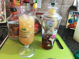 Make mai tai cocktails – they are out of this world! Flavors include orange, pineapple, lime, almond, and rum. Mai tai is a classic exotic cocktail.