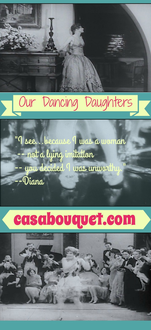Our Dancing Daughters was a star making turn for Joan Crawford, the ultimate flapper. Jazz Age parties, morals, homes, and jewelry! Must see for film buffs. Lisa's Home Bijou: Our Dancing Daughters (1928)