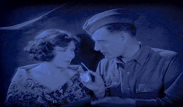 The Big Parade WWI silent film: Lisa's Home Bijou