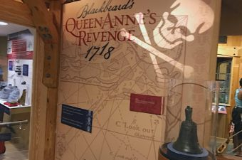 Beaufort and the NC Maritime Museum are great places to visit on the Crystal Coast of North Carolina. The museum has exhibits about the culture of the coast and great activities for children. Blackbeard and Queen Anne's Revenge artifacts here!