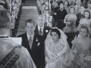 Father of the Bride is a classic film with Spencer Tracy and Elizabeth Taylor. Snapshot of 1950 middle class wedding with a comedy spin. Lisa's Home Bijou: Father of the Bride (1950)