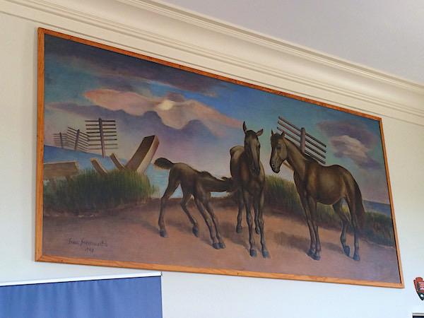Beaufort PO mural