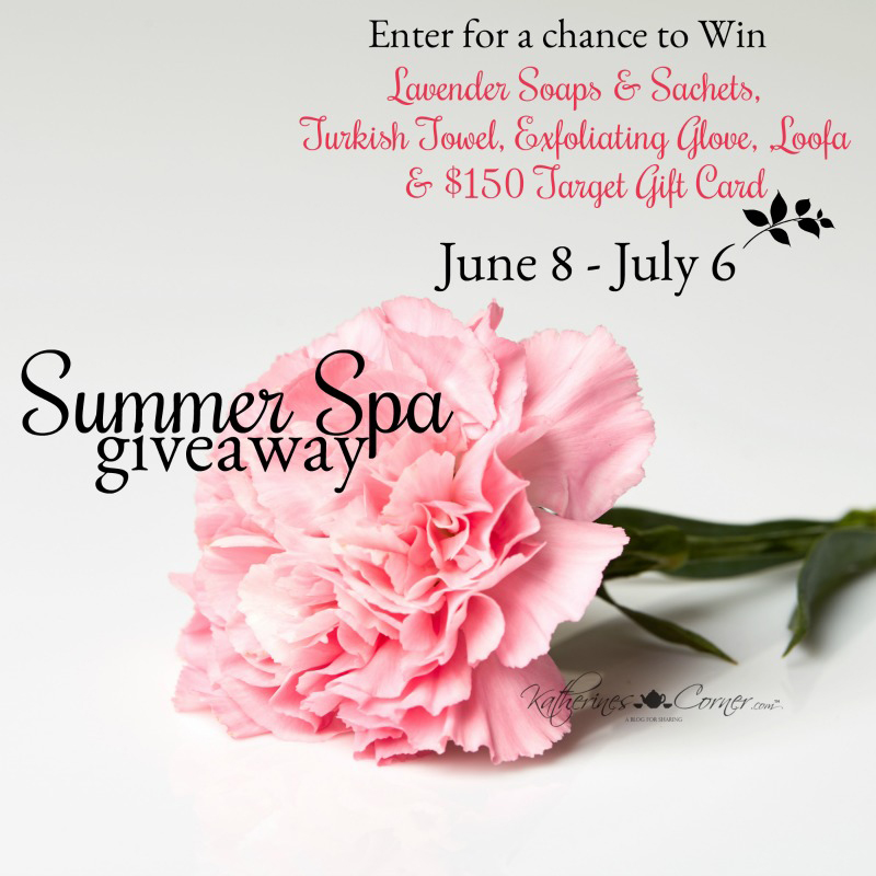 summer spa giveaway main image