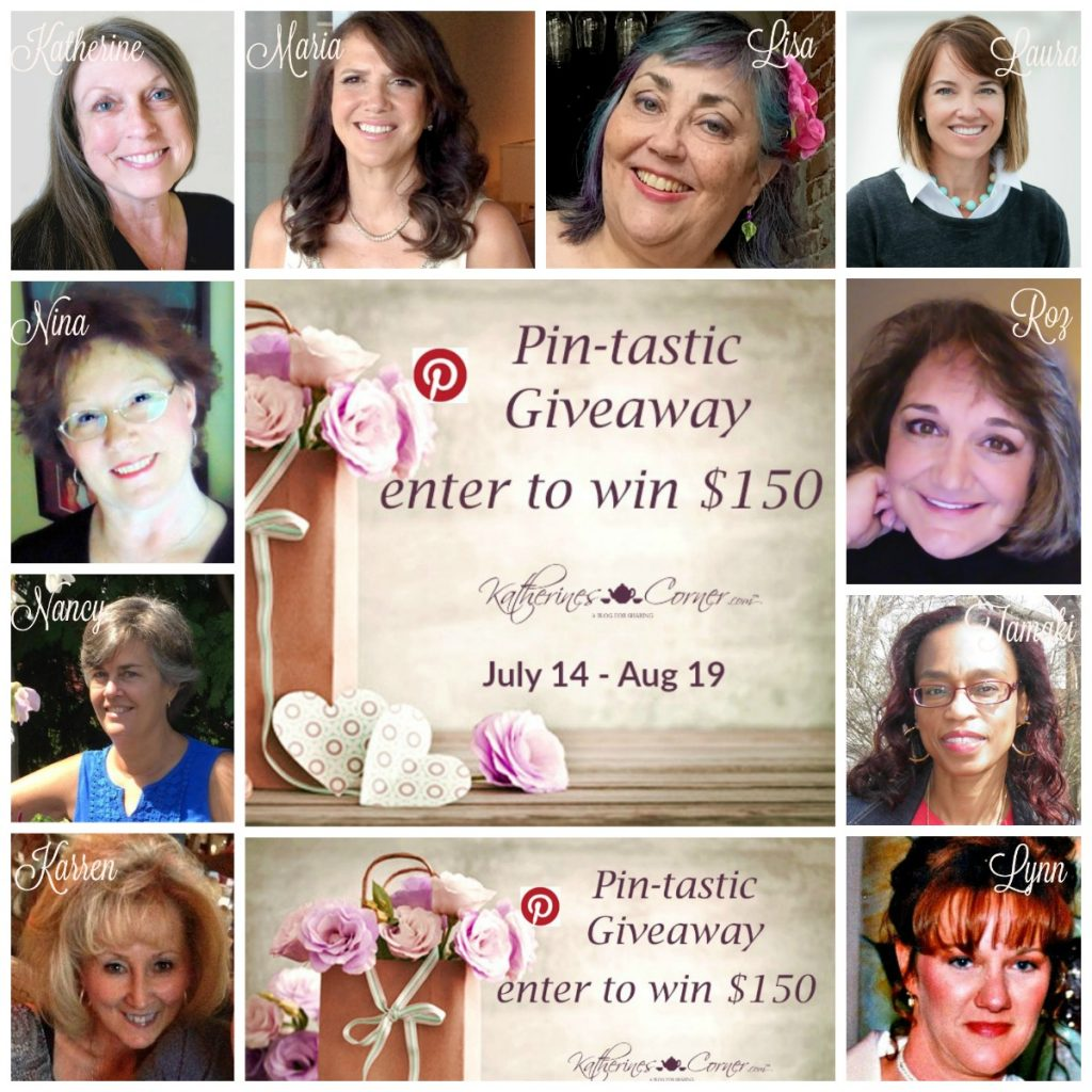 pin-tastic giveaway hostesses