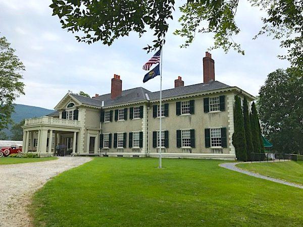 Hildene estate Lincoln home Manchester Vermont