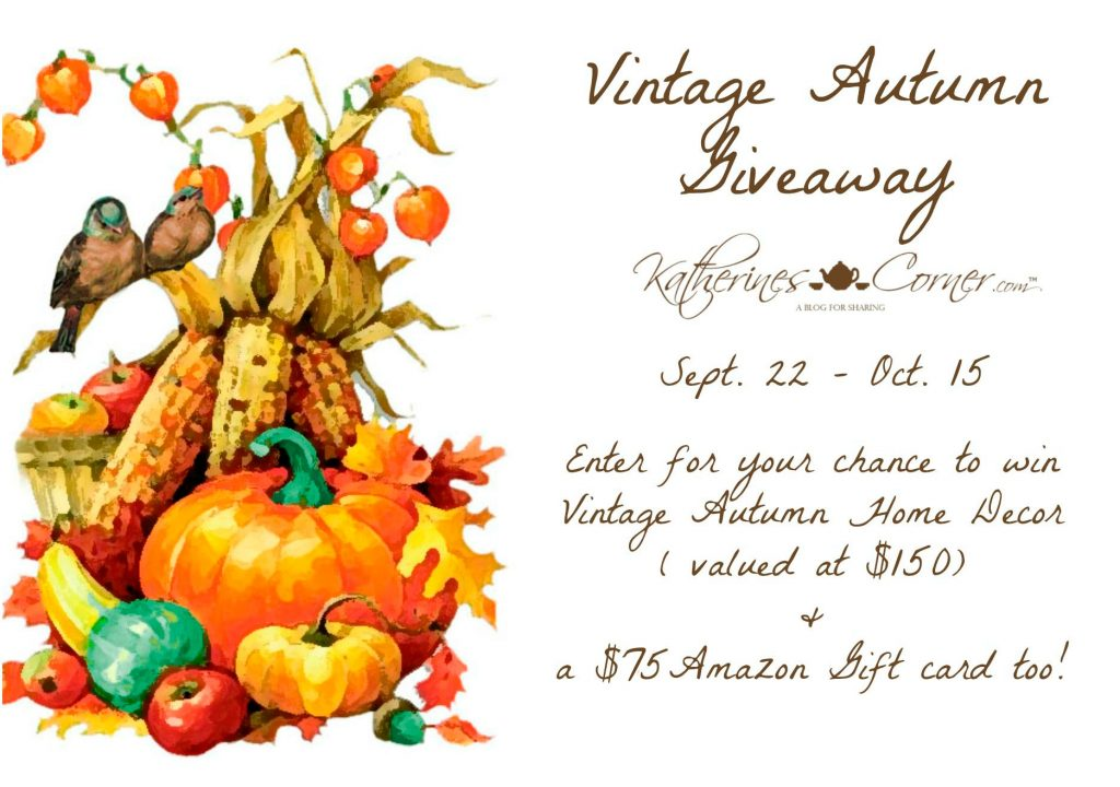 vintage autumn giveaway main image