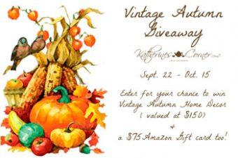 vintage autumn giveaway sidebar image