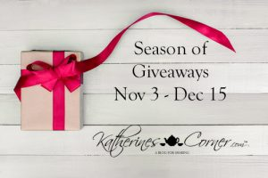 annual season of giveaways nov 3 - dec 15