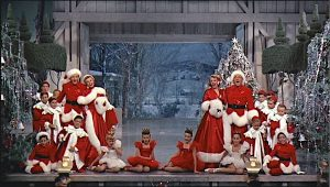 Bing Crosby, Danny Kaye, Rosemary Clooney, and Vera-Ellen take us on a mid-century show biz romp through a Vermont Christmas. Lisa's Home Bijou: The White Christmas (1954)