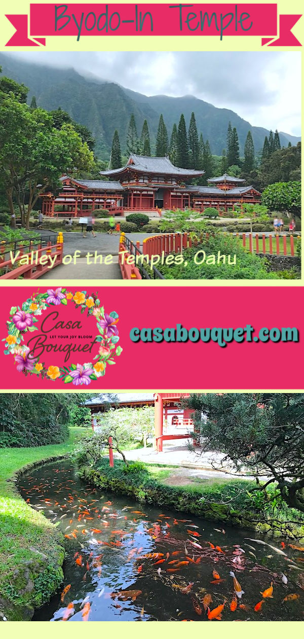 Valley of the Temples Byodo-In Temple is one of the cultural treasures of Oahu Hawaii. Visit this beautiful Buddhist temple below the Ko'olau mountains.