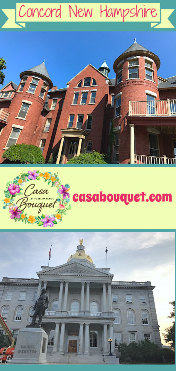 Concord New Hampshire is a beautiful state capital city with lots of great dining. The Centennial Hotel is a historic hotel with character and charm.