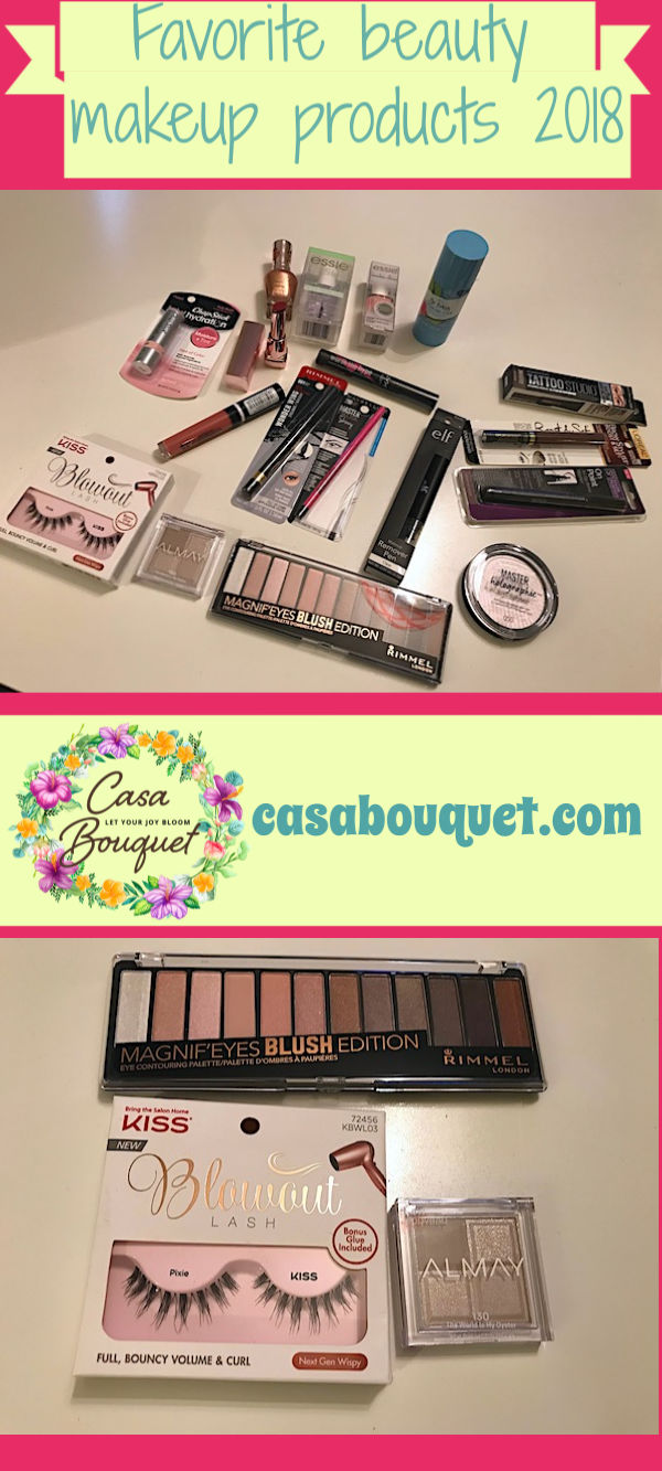 A beauty makeup products roundup for 2018 includes eyes, lips, face, nails, and more. There are lots of great products at the drugstore!