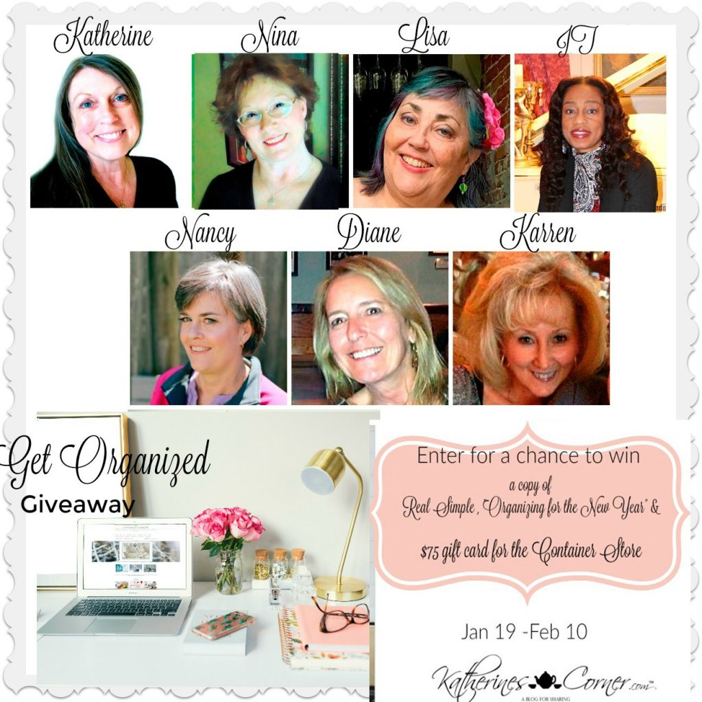 get organized giveaway hostesses 1