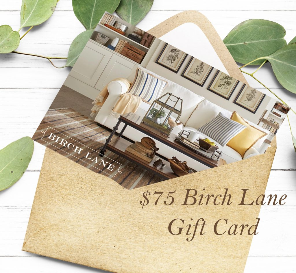 birch lane gift card