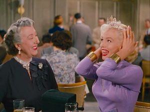 Gentlemen Prefer Blondes (1953) stars Marilyn Monroe and Jane Russell on a cruise ship with Olympic athletes and diamonds. Technicolor musical! Lisa's Home Bijou
