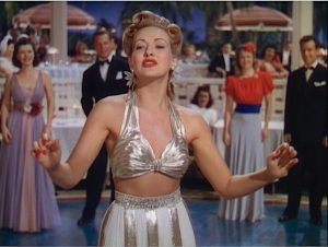 Moon Over Miami with Betty Grable. Singing, dancing, Florida, and 1940's fashions! Lisa's Home Bijou