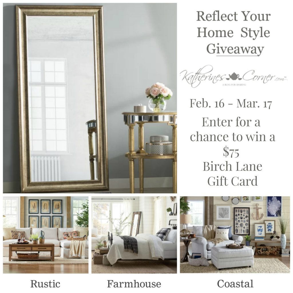 reflect your home style giveaway main image