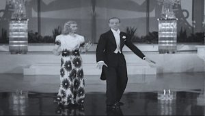 Shall We Dance (1937). Fred Astaire and Ginger Rogers find love on a cruise ship with a Russian ballet troupe. Gershwin songs are to die for! Lisa's Home Bijou