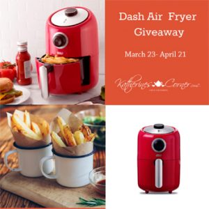 Air Fryer Giveaway sidebar